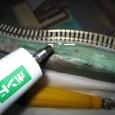 嵯峨野鉄道図書館6-1-2:発泡スチロール用のクリア・ボンド