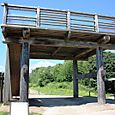 吉野ヶ里10:櫓門の復元