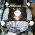 CPUクーラー:空冷装置(フィン)