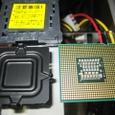 蓋(MB)とカバー(CPU)とCPU