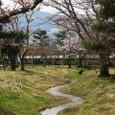 平安郷:広沢池に注ぐ小川