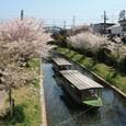 伏見港の十石船