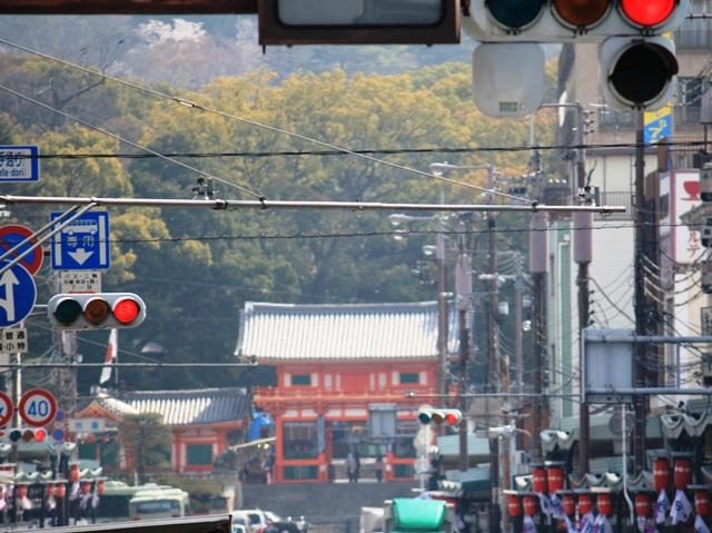 祇園八坂神社遠望