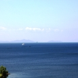 長浜城から西:高島市