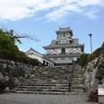 長浜城全体:東→西に向かって撮影