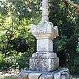志賀海神社05:石造宝篋印塔