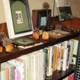 猫町の図書コーナー