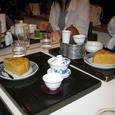 中国茶と煎茶とマフィン