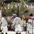 大覚寺の撮影現場