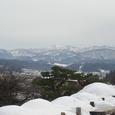 兼六園展望台から見た白山(?)
