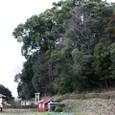 箸墓:前方部とJo翁
