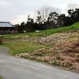 ホケノ山:前方部の葺石再現