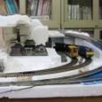 基盤14:On30とHO電気機関車(東向き)