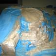 石膏16:石膏塗り完了(南向き)