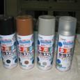 塗装01:材料・水性アクリル塗料