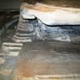 塗装20:塗装完了・南面聖山神社石段細部(北向き)