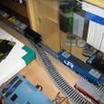 自動往復:机上隙間を走る図書館列車あたご2号