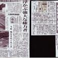 箸墓古墳の大規模周濠(産経新聞)