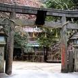 磐船神社の正面鳥居