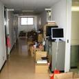 (1)廊下の惨状
