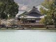 大覚寺遠望