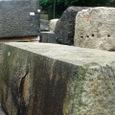 皇居・古い石材