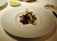 (1)ホワイトアスパラガスと稚鮎の温かいサラダ