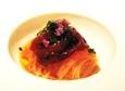 (3)本マグロのづけ、冷製カッペリーニで