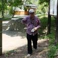 6.甲賀寺跡前のJo翁・出発