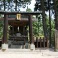 7.甲賀寺金堂跡の神社