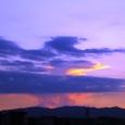 木幡の夕景 2007/08/16(木)午後7時