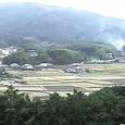 酒船石と多武峯:甘樫丘展望台から東を撮す