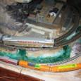 試運転02:(HO)&(N)二階建て図書館列車